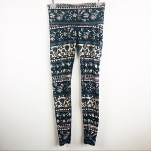Teeki | Leggings Boho Antler Winter Print Tights